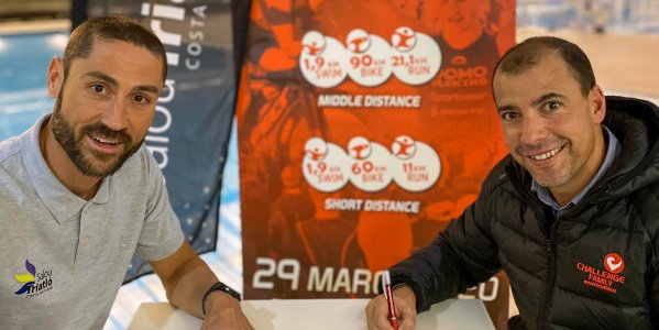 Challenge Salou becomes the main sponsor of the Salou Triatló Costa Daurada